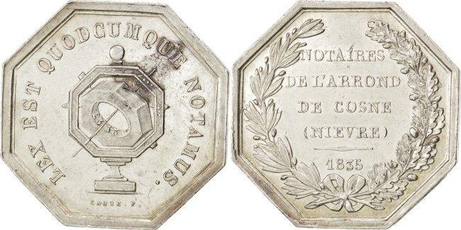 Token 1835 Frankreich AU(55-58)