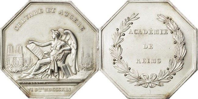 Token 1841 Frankreich AU(55-58)