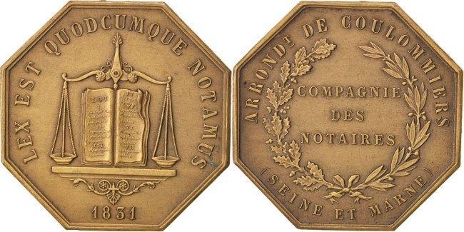 Token 1831 Frankreich AU(55-58)
