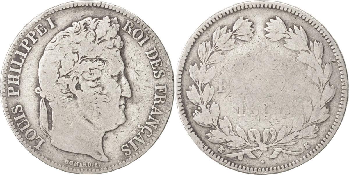 5 Francs 1835 K Frankreich Louis-Philippe F(12-15)