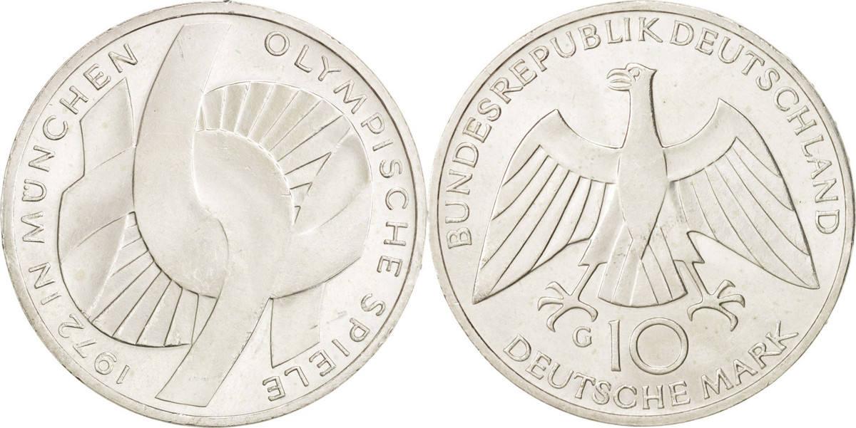 10 mark bundesrepublik deutschland