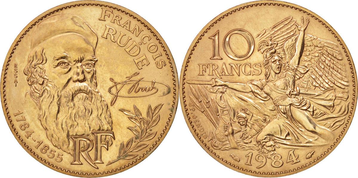10 Francs 1984 Frankreich MS(60-62)
