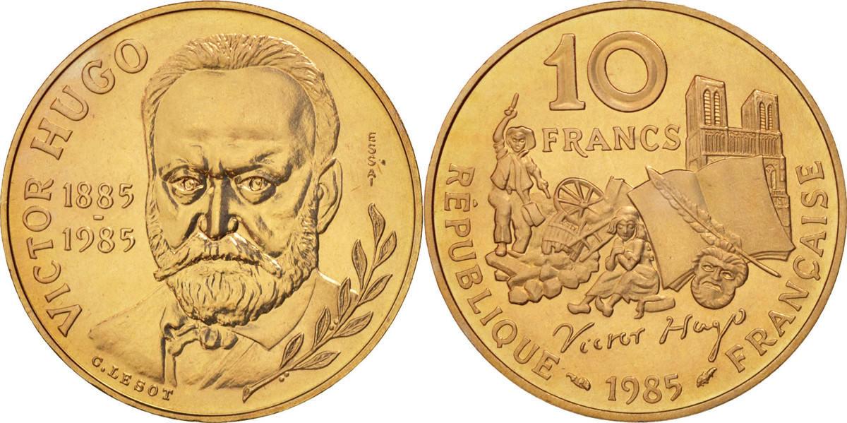 10 Francs 1985 Frankreich MS(60-62)