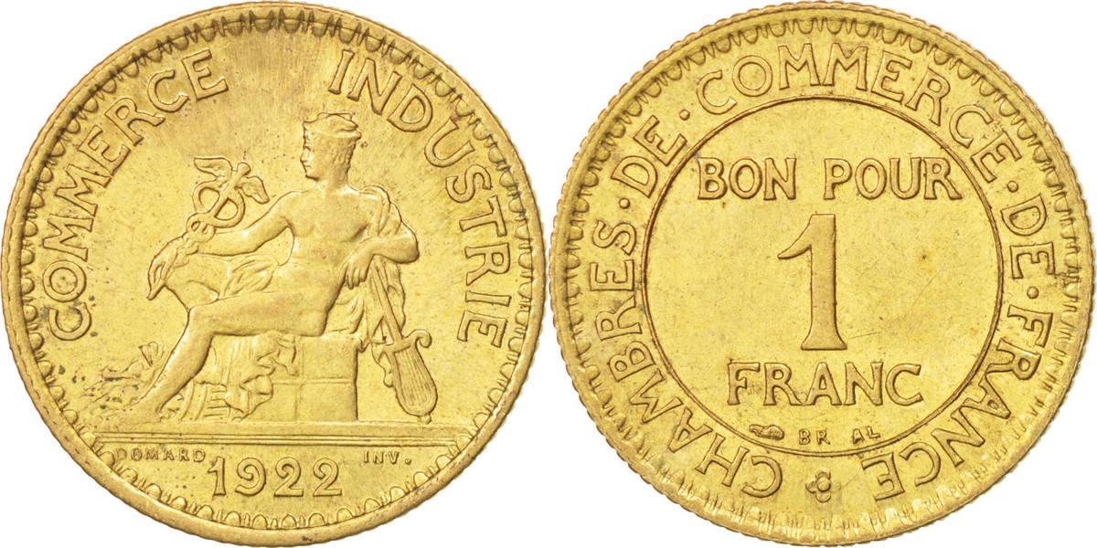 Franc 1922 paris frankreich chambre de commerce ms 60 62 for Chambre de commerce a paris adresse