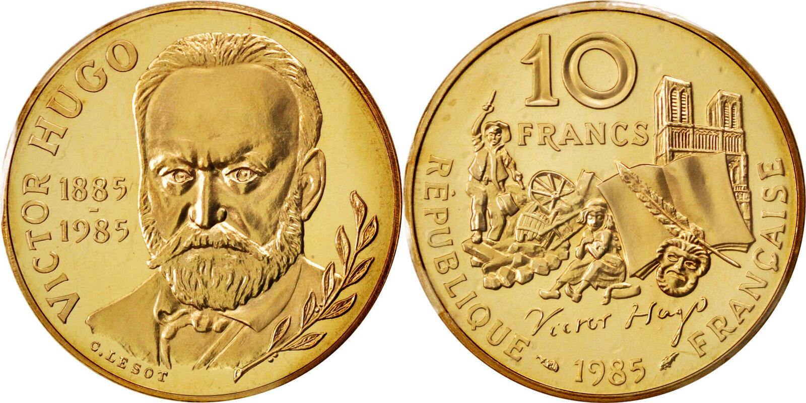 10 Francs 1985 Frankreich MS(65-70)