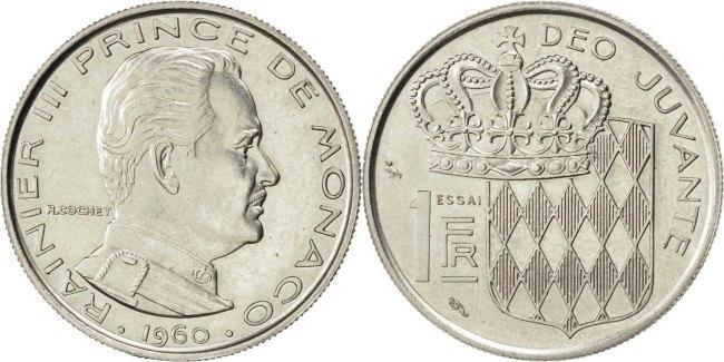 Franc 1960 Monaco MS(60-62)
