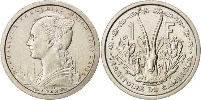 Franc 1948 (a) Kamerun MS(60-62)