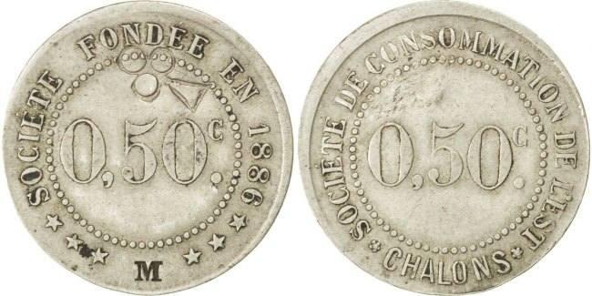 50 Centimes Frankreich EF(40-45)