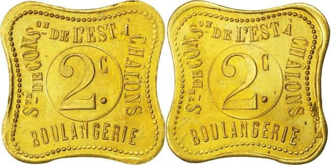 2 Centimes Frankreich MS(60-62)