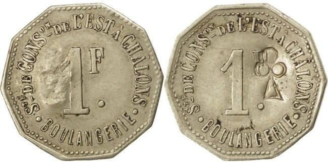 1 Franc Frankreich EF(40-45)