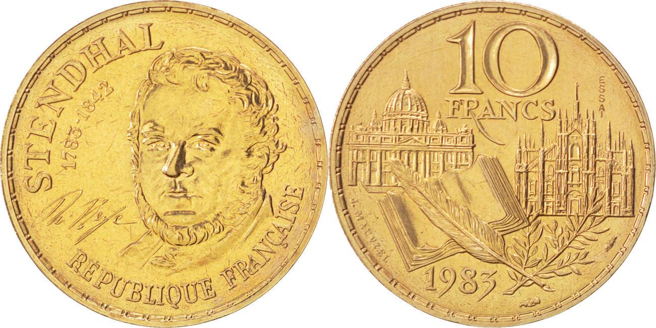 10 Francs 1983 Frankreich MS(63)