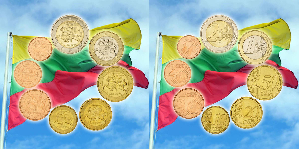 1 Cent to 2 Euro 2015 Other Lituania, 0.00 STGL