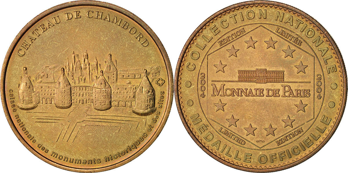 Token 2004 Frankreich AU(55-58)