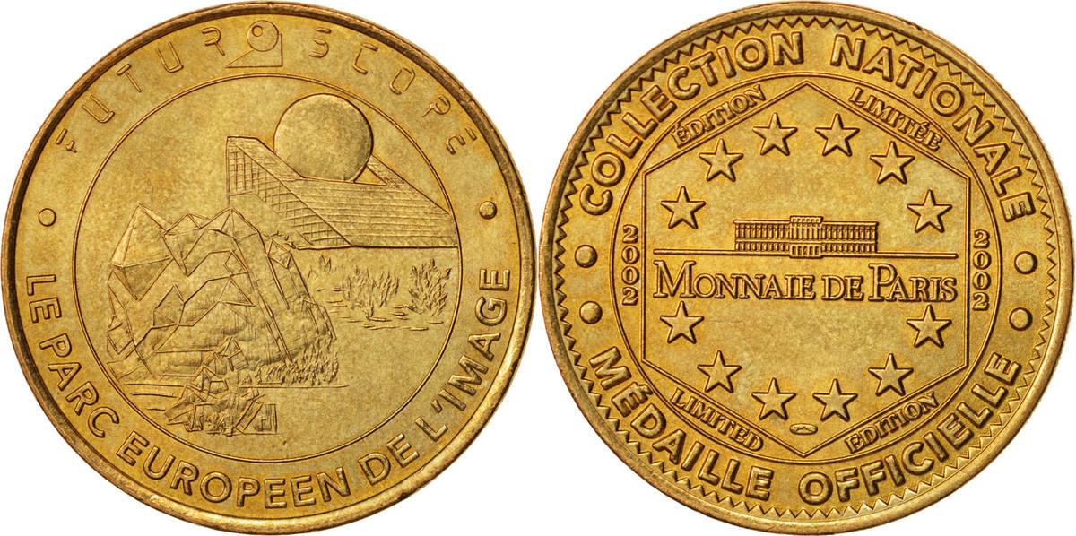 Token 2002 Frankreich AU(55-58)