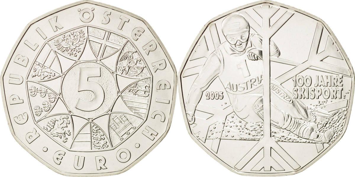5 Euro 2005 Vienna Österreich UNZ, Silber, KM:3117 UNZ