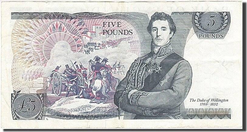 5 Pounds 1971 Großbritannien EF(40-45)
