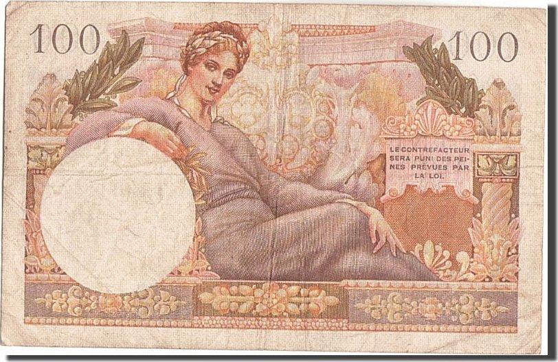 100 Francs 1955 Frankreich VF(30-35)