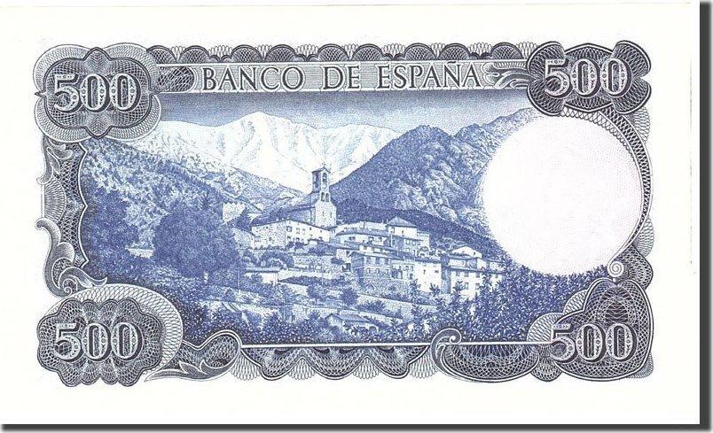 500 Pesetas 1971 Spanien UNC(63)