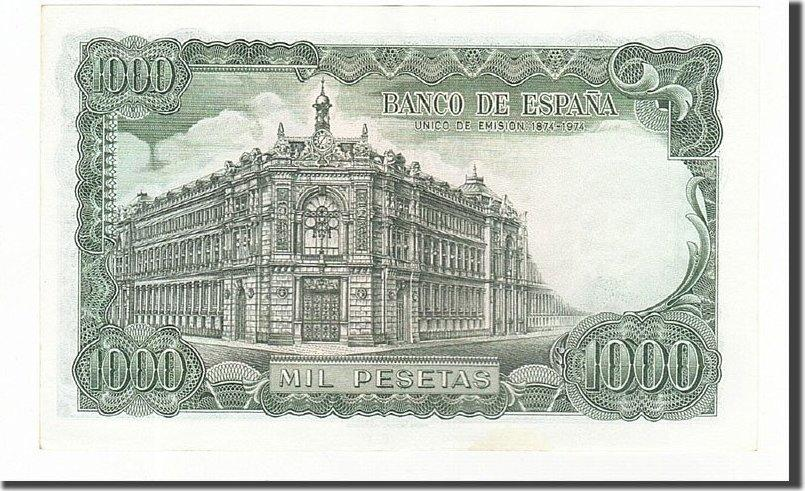 1000 Pesetas 1971 Spanien UNC(60-62)