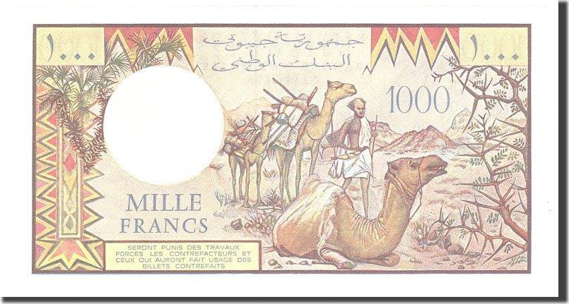 1000 Francs 1988 Dschibuti UNC(65-70)