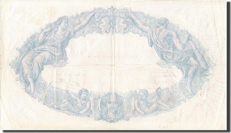 500 Francs 1939 Frankreich EF(40-45)