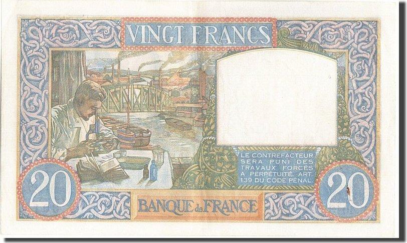 20 Francs 1941 Frankreich AU(50-53)