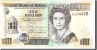 Belize 10 Dollars