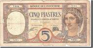 FRENCH INDO-CHINA 5 Piastres Undated, KM:49b, S