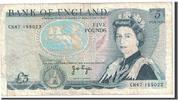 Großbritannien 5 Pounds KM:378a, S