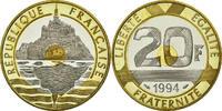 Frankreich 20 Francs Mont Saint Michel