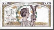 Frankreich 5000 Francs