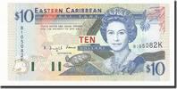 Undated #165321 Unz 2000 10 Dollars Osten Karibik Staaten Km:38v