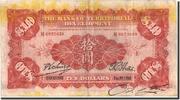 China 10 Dollars 1914 S+ Geldschein, 1914-12-01, K