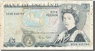 Großbritannien 5 Pounds KM:378f, 1988-1991, S