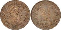 Niederlande 2-1/2 Cent William III