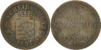 Deutsch Staaten Neu-Groschen, 10 Pfennig Friedrich August II