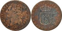 Frankreich 1/2 Sol 1/2 Sol ou 1/2 sou Louis XVI 1774-1791 Louis XVI