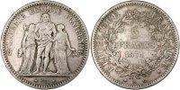 Frankreich 5 Francs Hercule