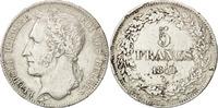 Belgien 5 Francs, 5 Frank Leopold I