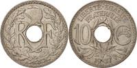Frankreich 10 Centimes Lindauer, Copper-nickel, KM:866a, Gado...