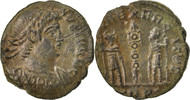 Nummus Constantine II, Trier, SS, Copper, RIC:591
