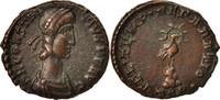 Nummus Constantius II, Trier, VZ, Copper, RIC:227