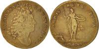 Frankreich Token Royal, Bâtiments du Roi, Louis XIV, SS, Brass, 25, Feuard...