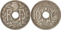 Frankreich 10 Centimes Lindauer, Paris, S+, Copper-nickel, KM:866a, G...