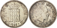 Monaco 10 Francs MONACO, KM #146, Silver, 37, Gadoury #155, 24.98