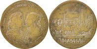 Frankreich Token Royal, Entrée du légat à Paris, Louis XIV, S+, Brass