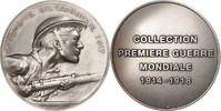 Frankreich Medal Offensive Britannique 1917, History, Vernier, STGL, Silvered
