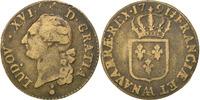 Frankreich Sol Sol ou sou Louis XVI 1774-1791 Louis XVI