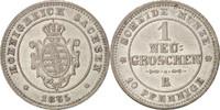 Deutsch Staaten Neu-Groschen, 10 Pfennig Johann