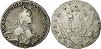 Russland Poltina, 1/2 Rouble 1764 St. Petersburg S
